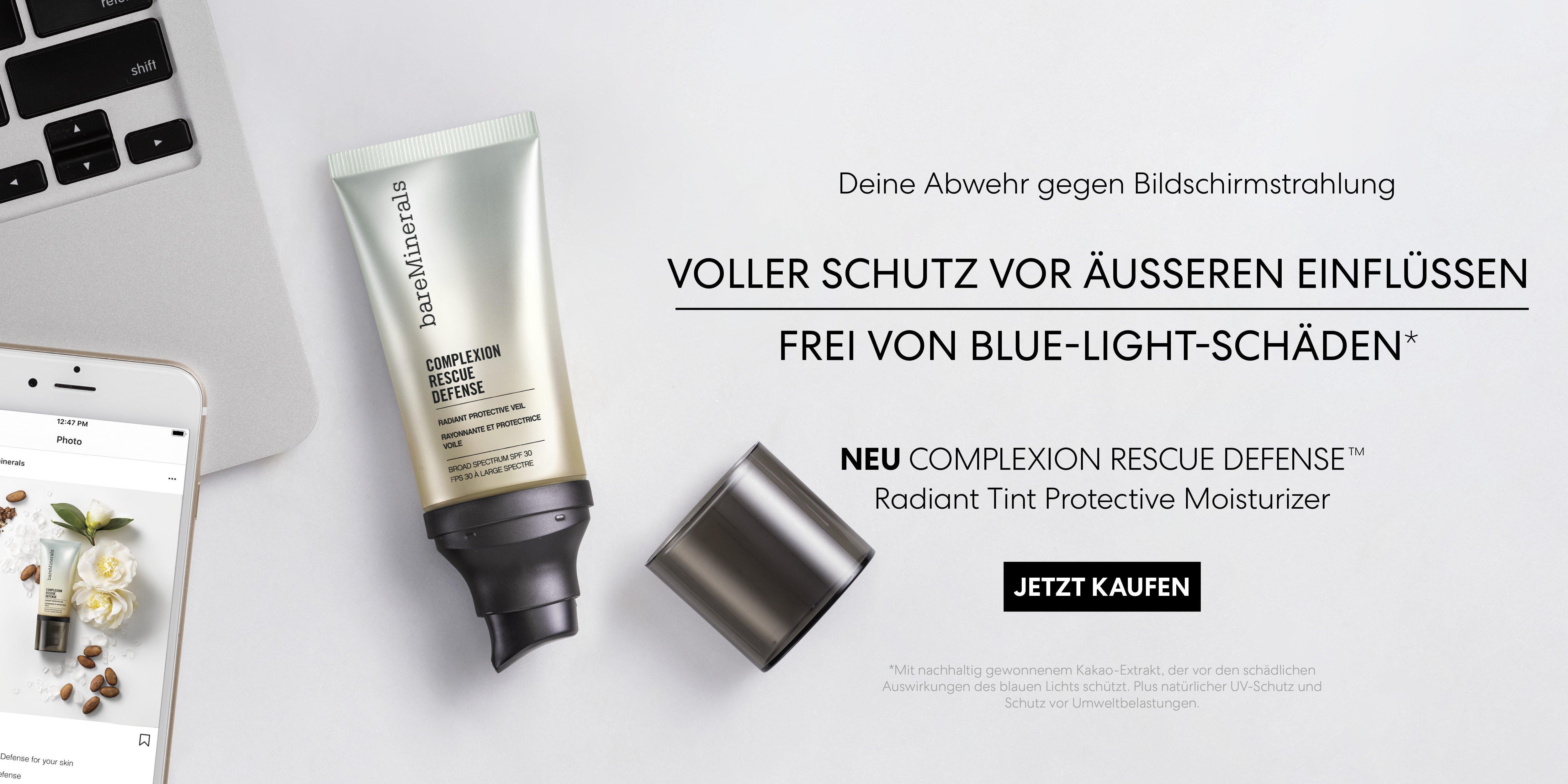 bareMinerals complexion rescue defense bluelight blue-light