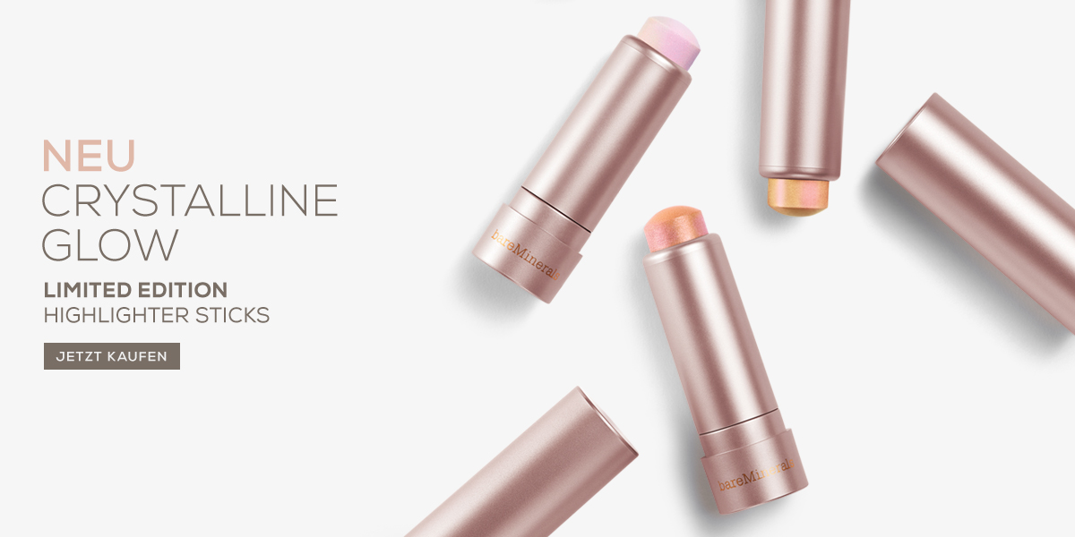 bareMinerals crystalline glow highlighter sticks